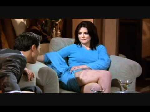 Megan Mullally  Thigh Slap