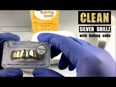 How To Clean 925 Sterling Silver Grillz With Baking Soda! - www.blingcartel.com