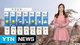 [날씨] 전국 맑고 오후 찬 바람...내일, 입동 추위 / YTN