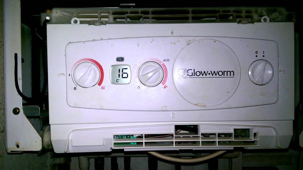 F3 fault on glow worm flexcom - YouTube