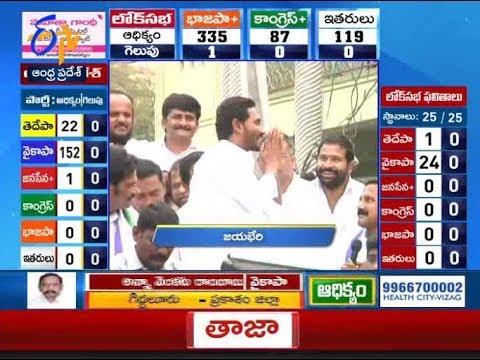 12 Noon | Ghantaravam | News Headlines | 23rd May 2019 | ETV Andhra Pradesh