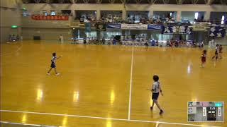 2019年IH ハンドボール 女子 1回戦 熊本国府(熊本)VS 昭和学院(千葉)