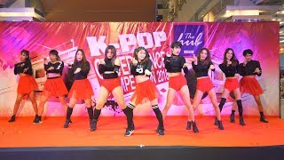 180114 HeeH cover KPOP - BBoom BBoom(MOMOLAND) + Lip & Hip(HyunA) @ The Hub Cover Dance 2018 (Final)
