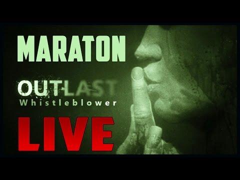 LIVE #30 | OUTLAST - WHISTLEBLOWER | 720p/60FPS [MARATON]