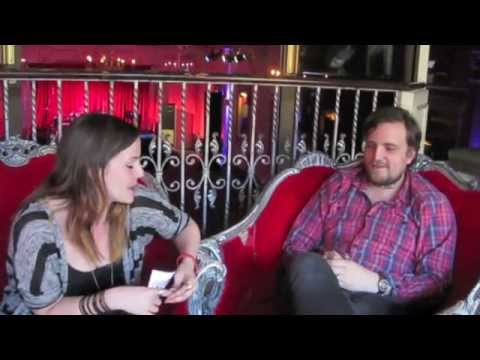 Molly McQueen interviews James Walsh, lead singer of Starsailor, for Isle of Wight Festival TV 2014