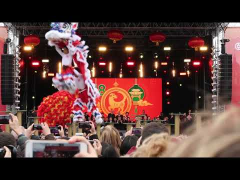 CHINESE NEW YEAR 2018: The Dragon Dance