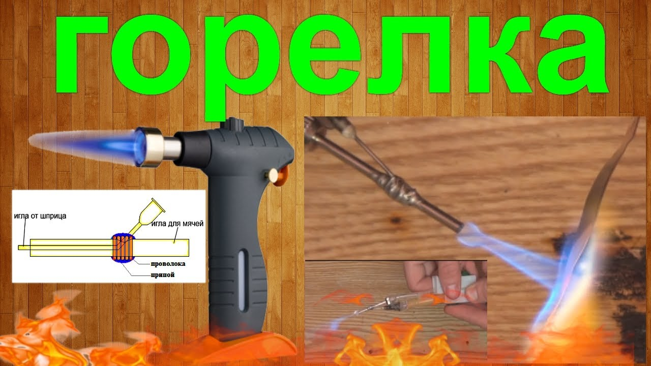 Зажигалка газовая своими руками