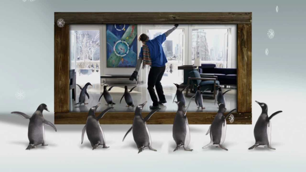Mr. Popper's Penguins (2011) - Blu-ray menu - YouTube