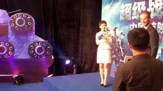 """Battleship - World Tour With Peter Berg: """"Chinese Premiere"""""""