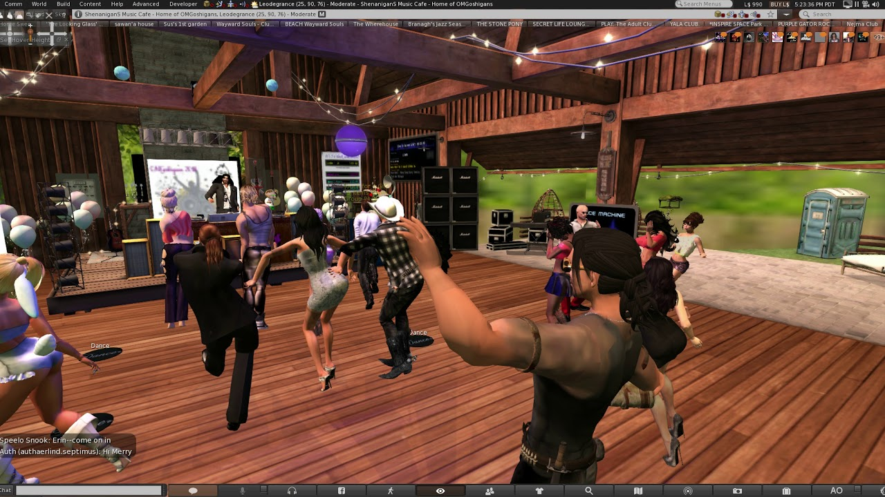 second life online play