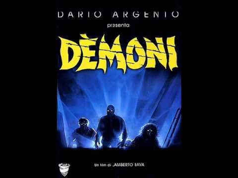 Фильм демоны 1985 саундтрек