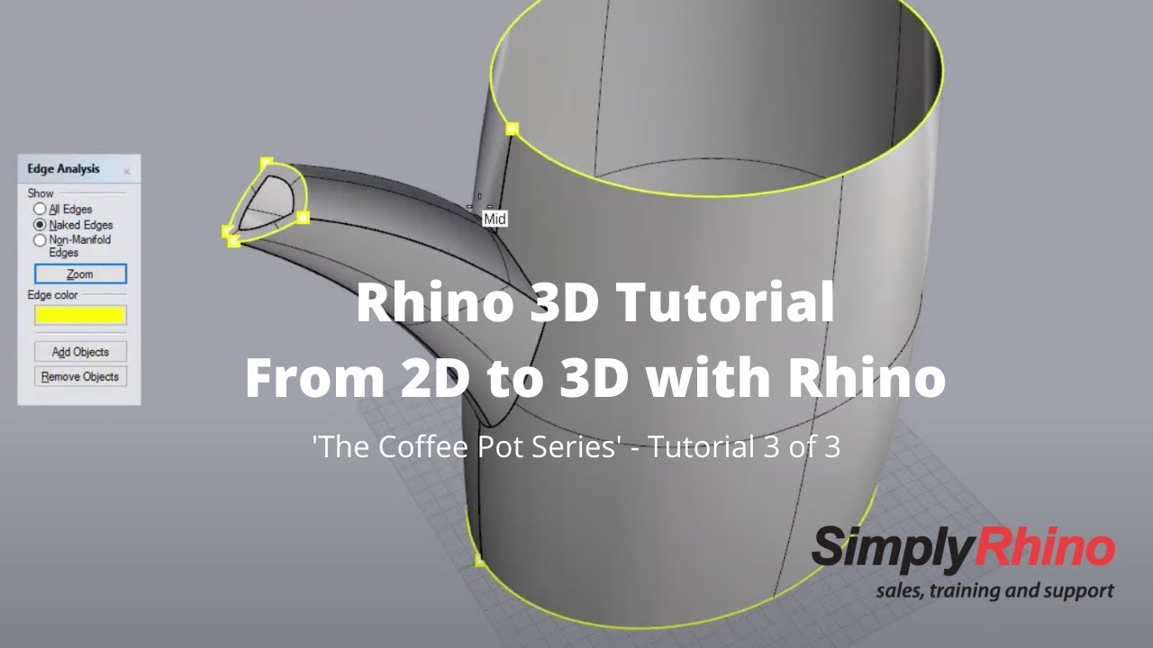Rhino for Windows Video Tutorials - Simply Rhino