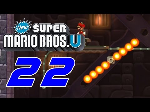 [SRPSKI] New Super Mario Bros U #22 Teske Star Coin-ove [Full-HD]