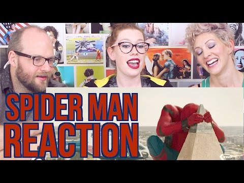 Thumbnail: SPIDER-MAN homecoming clip and Trailer #2 REACTION
