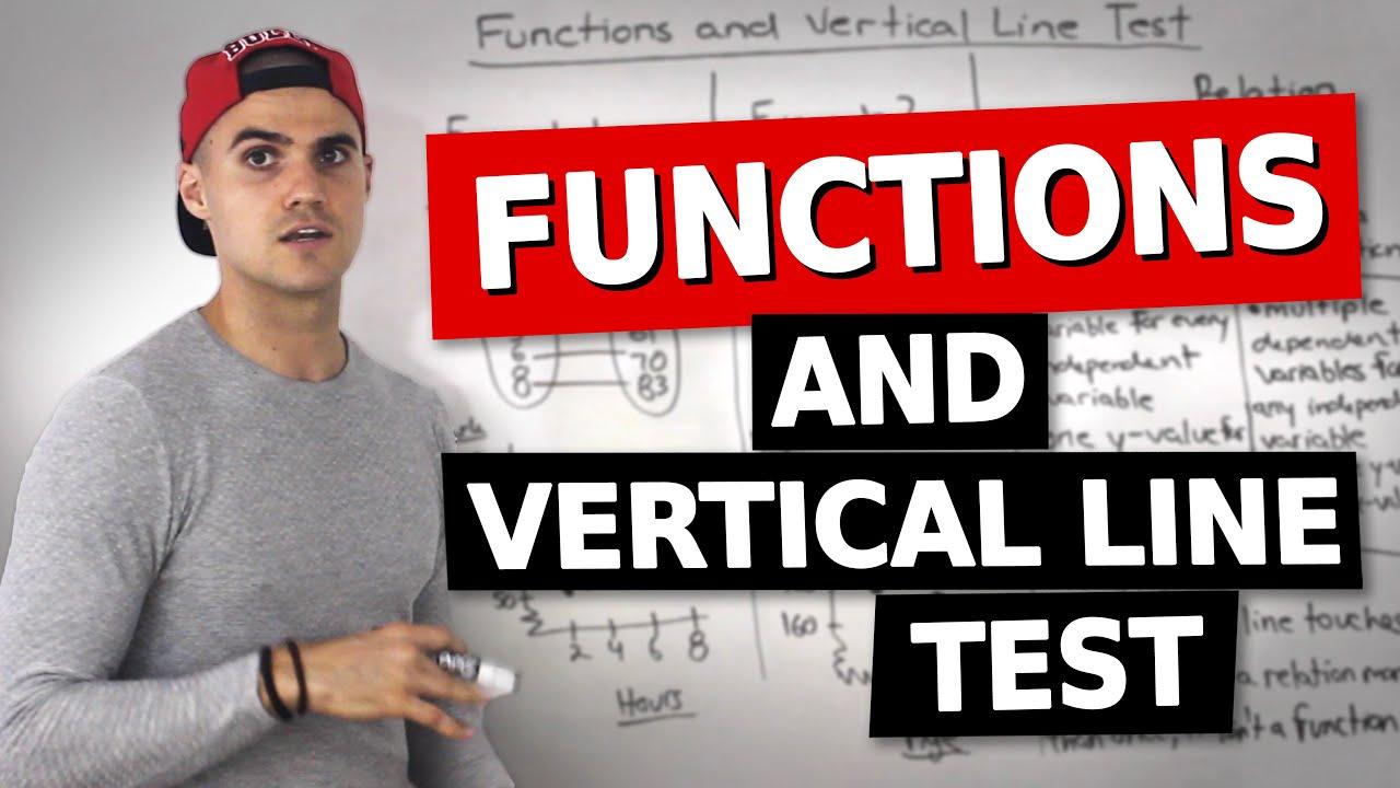 MCR3U (1 1) - Functions & Vertical Line Test - Grade 11 Functions