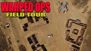 Warp Ops Airsoft Aerial Field Tour - AirSplat on Demand