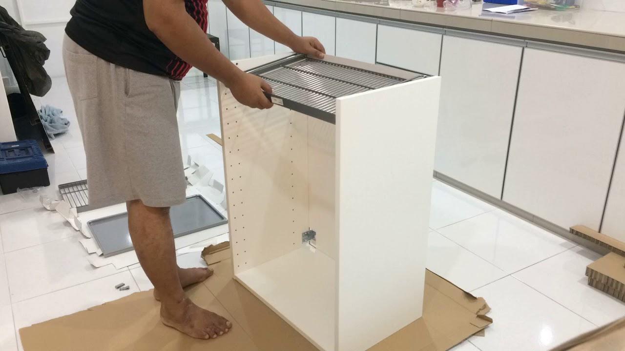 diy ikea metod dish drainer malaysia