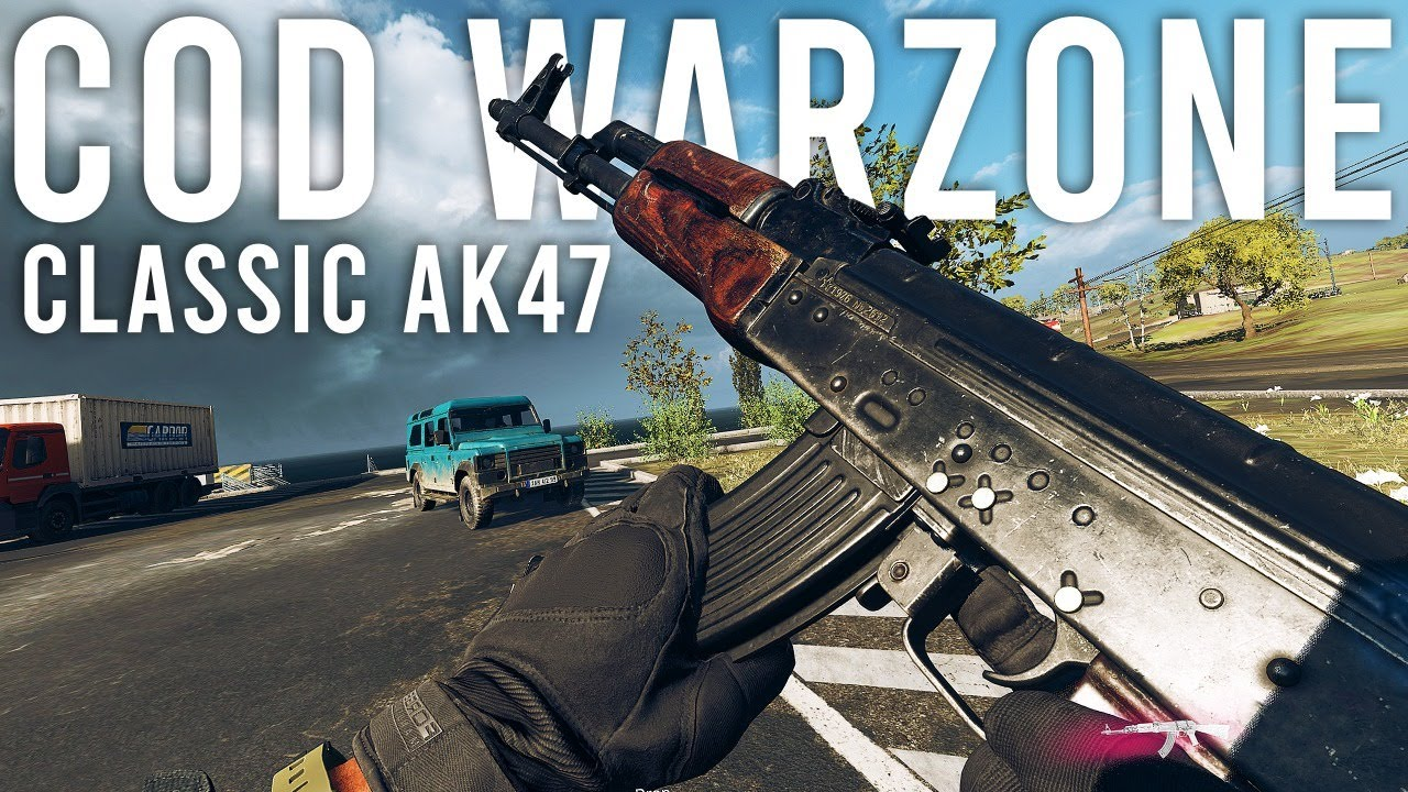 Using the Classic AK47 in Call of Duty Warzone...