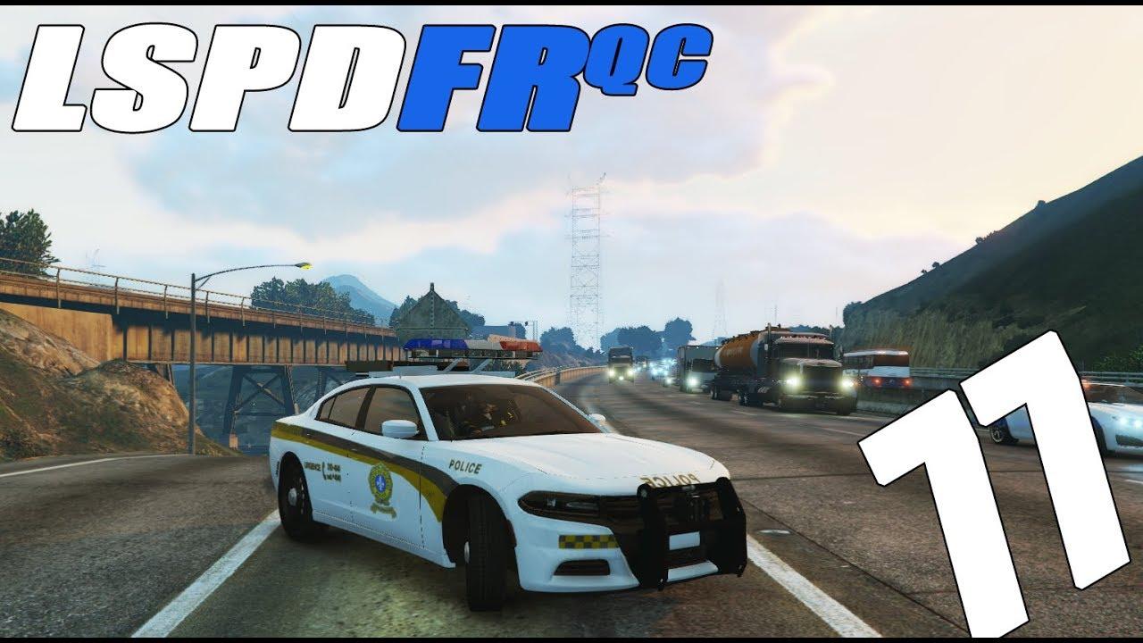 LSPDFR QC - Épisode #77 - L'autoroute 15!