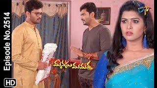 Manasu Mamata   9th February 2019   Full Episode No 2514   ETV Telugu