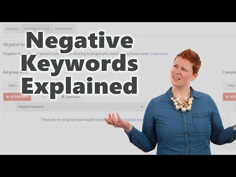 What are Negative Keywords and How to Use Them (Using Google AdWords)