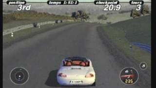 Porsche Challenge for Playstation PSone Gameplay ( Oldies )