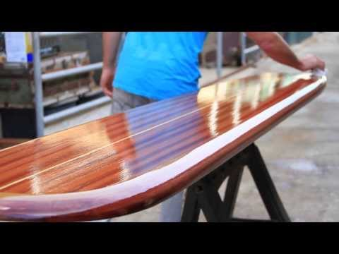 Wooden Surfboards home decor, wall art, wood surfboard furniture BAR TABLES