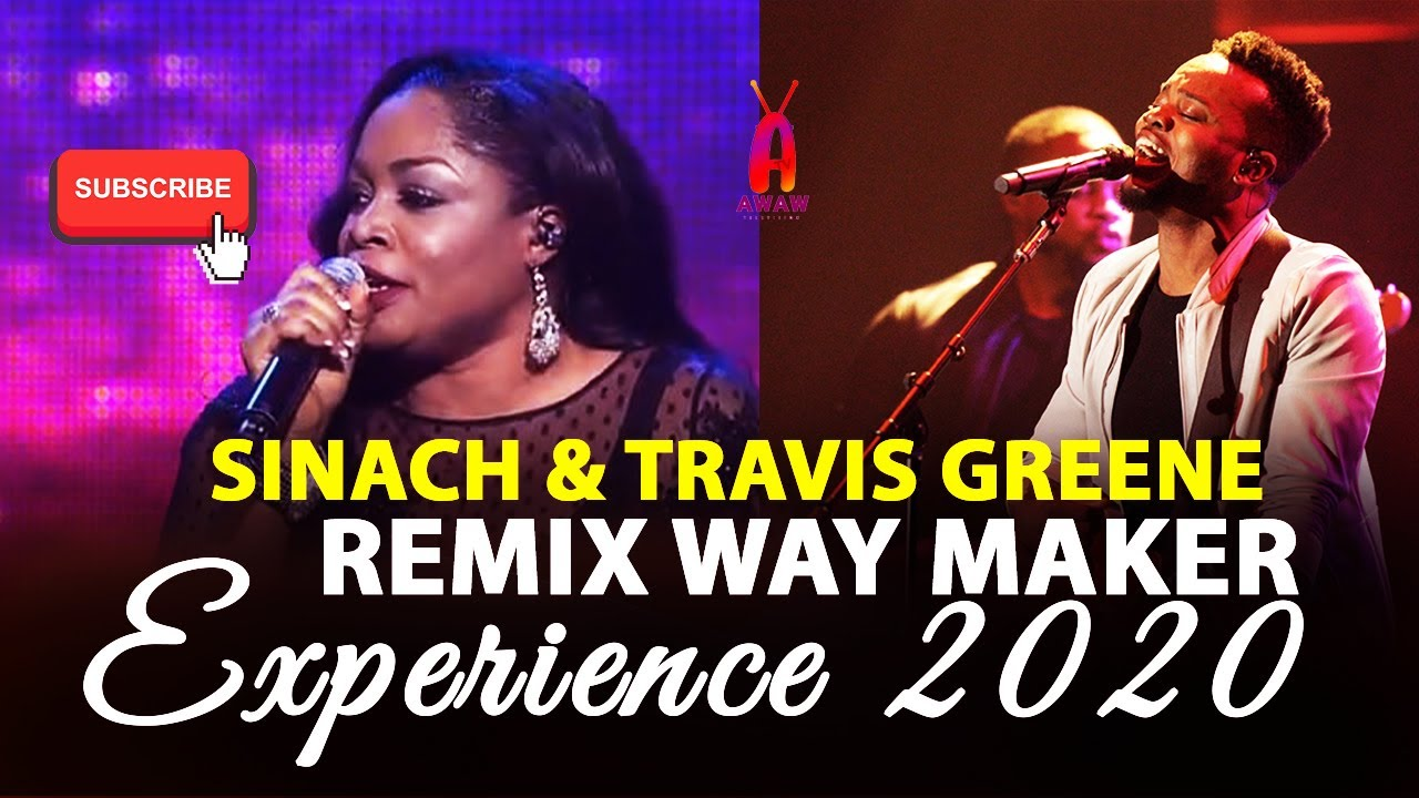 """Download Watch Sinach and Travis Greene remix """"WAY MAKER"""" at the experience 2020"""