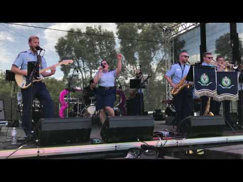 NSW Police Band Perform at Mardi Gras Fair Day 2017 (Full Set)