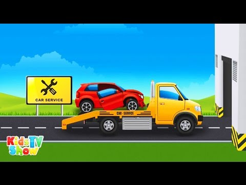 Tow Truck and Transport Vehicles for Children - Educational Cartoon for Kids - Kids TV Show
