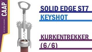 Solid Edge - Keyshot - Motor Animation Render - Kurkentrekker