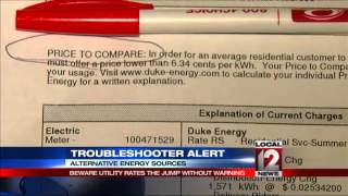 Howard Ain, Troubleshooter: Beware of utility rates that jump without warning
