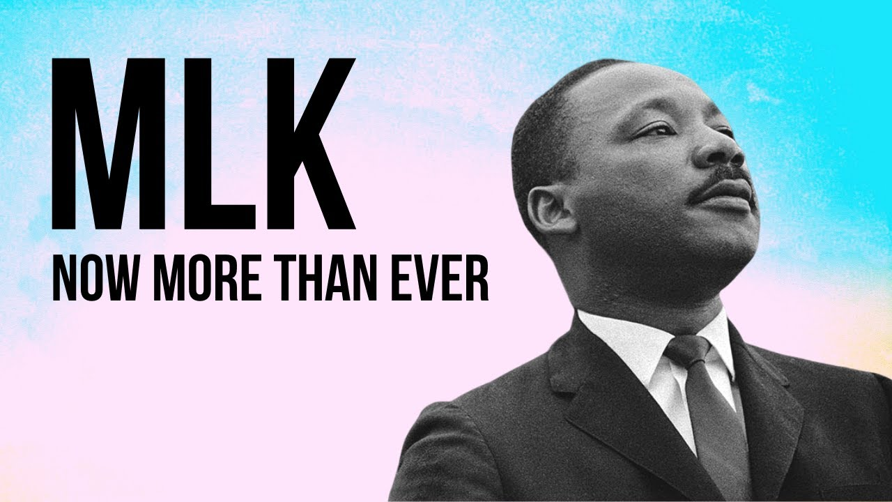 BLM & MLK - His Message is Needed Now More Than Ever