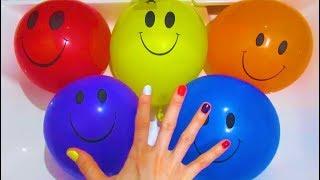 Семья Пальчиков Fingerfamily LearningColors Видео ДляДетей УчимЦвета ЛопаемШарики с водой ChildrenTV
