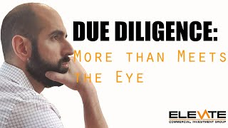 Due Diligence: More than Meets the Eye