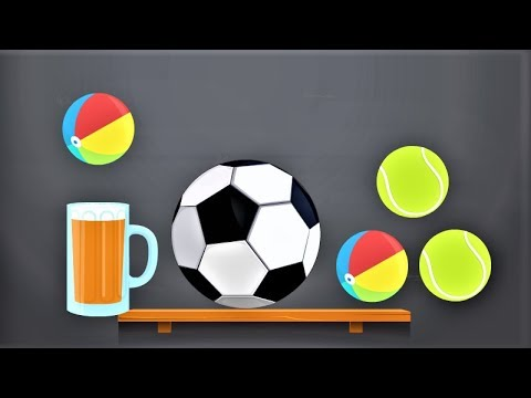 Kids Learning Colors With Surprise Soccer Balls H Magic