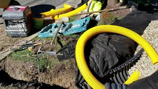 Freedom Drain French Drain System For Yard Water Drainage Problems MP3