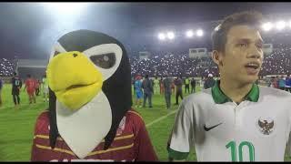 Gema Anthem Satu Jiwa di Pertandingan Persis Solo vs Indonesia U-19