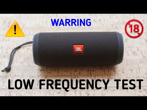 JBL FLIP 3 EXTREME LOW FREQUENCY TEST