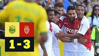Radamel Falcao macht alles klar: Nantes - AS Monaco 1:3 | Highlights | Ligue 1 | DAZN
