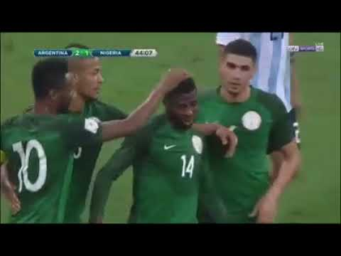 Highlights: Argentina 2-4 Nigeria