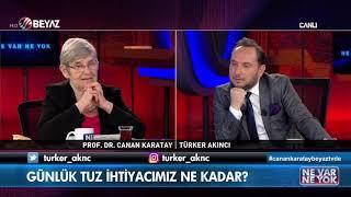 Sofra tuzu mu kristal tuz mu / Prof. Dr. Canan Karatay