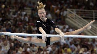 олимпийское золото - российская гимнастка Светлана Хоркина