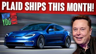 Tesla Time News - Plaid Model S Ships This Month!