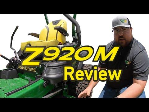 2020 John Deere Z920 Zero Turn Mower Review And Walkaround