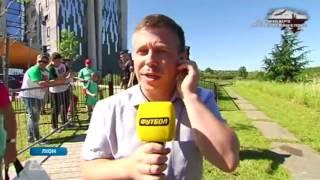 Журналист каналов «Футбол 1»/«Футбол 2» устроил погоню за Роналду