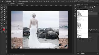 Работа с режимами наложения.  Видеоуроки Photoshop.