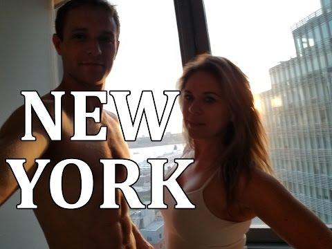 Cesta z LA do NY/ Nehoda na Time Square / Noční New York!