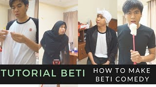 BEHIND THE SCENE BETI COMEDY