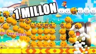1 MILLON DE POKEYS **NUEVO** | Super Mario Maker 2